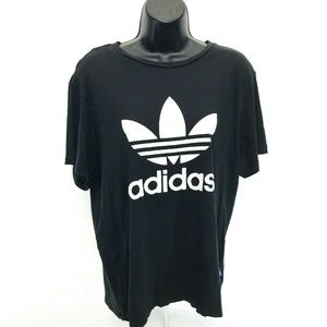 Adidas Trefoil Short Sleeve Tee T Shirt Womens M